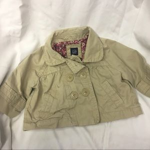 GAP, khaki jacket, size 3T